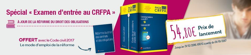 Pack CRFPA