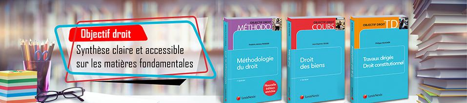 Collection objectif droit