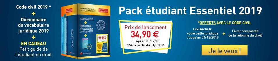 Pack Essentiel 2019