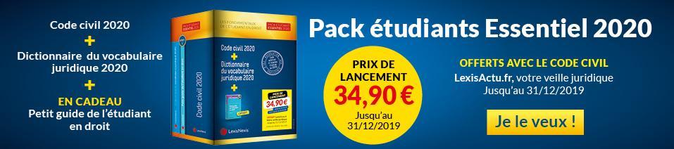 Pack Essentiel 2020