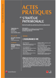 Actes pratiques et stratégie patrimoniale (Vente au numéro)
