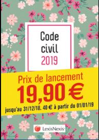 Code civil 2019 - Fleurs