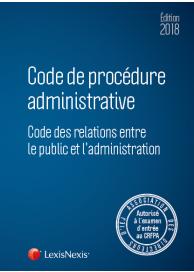 Code de procédure administrative 2018