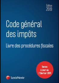 Code général des impôts 2019