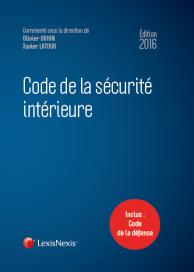 Code de la sécurité intérieure 2016