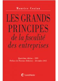 Les grands principes de la fiscalité des entreprises