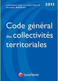 Code général des collectivités territoriales 2013