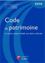 Code du patrimoine 2010