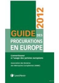 Guide des procurations en Europe 2012