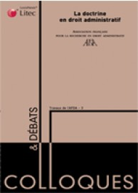 La doctrine en droit administratif