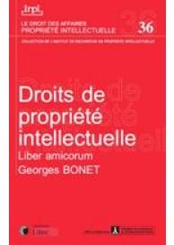 Droits de la propriété intellectuelle - Liber amicorum
