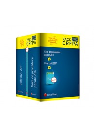 Pack CRFPA option procédure civile