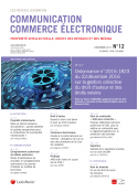 Communication - Commerce électronique