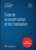 Code de la construction et de l'habitation 2019