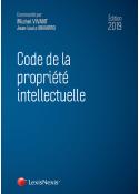 Code de la propriété intellectuelle 2019