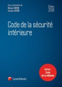 Code de la sécurité intérieure 2018