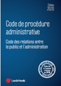 Code de procedure administrative 2020