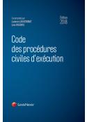 Code des procédures civiles d'exécution 2018