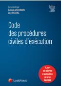 Code des procédures civiles d'execution 2017