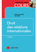 Droit des relations internationales
