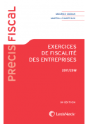 Exercices de fiscalité des entreprises 2018/2019