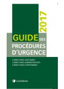 Guide des procédures d'urgence 2017