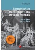 Formation et transformations du droit français