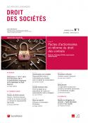 Droit des sociétés (vente au numéro)