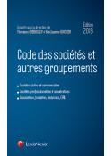 Code des sociétés et autres groupements 2018