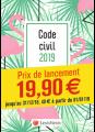 Code civil 2019 - Flamant rose