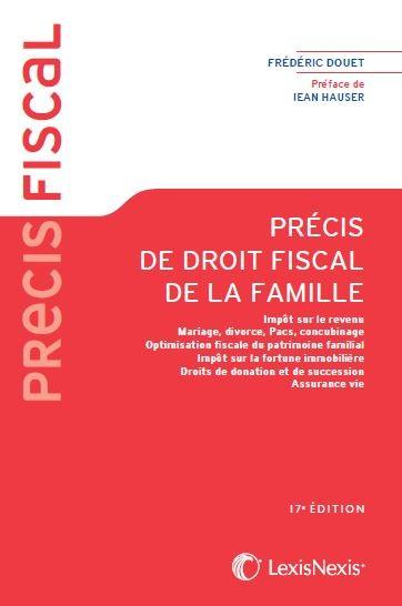 Boutique Lexisnexis Precis De Droit Fiscal De La Famille